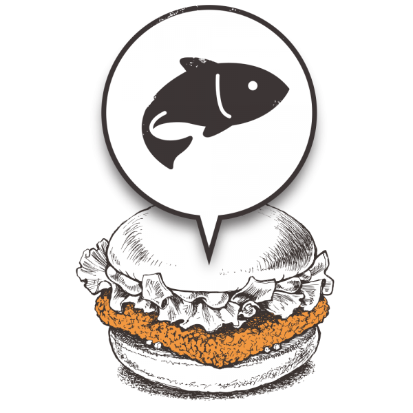 Grubers Luxembourg | Riccardo Giraudi | Burgers | Cheesegrubers Fish