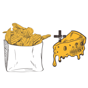 Grubers Luxembourg | Riccardo Giraudi | Burgers | Sexy Fries Cheese